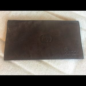 Gucci Soft Leather Billfold Wallet.
